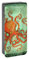 Octo Tako With Surprise Portable Battery Charger