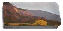 October Cottonwoods Portable Battery Charger