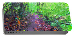 October Forest Pathway Portable Battery Charger