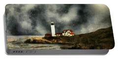 October Night, Portland Head Portable Battery Charger