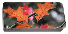 Portable Battery Charger featuring the photograph October by Peggy Hughes
