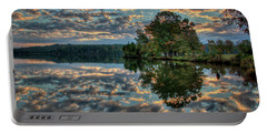 Portable Battery Charger featuring the photograph October Skies by Douglas Stucky