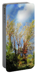 October Sunny Afternoon Portable Battery Charger