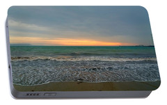 Portable Battery Charger featuring the photograph October Sunrise by Anne Kotan