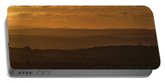 October Sunset In Acadia Portable Battery Charger