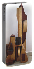 Ode To A Guitar Portable Battery Charger by Esther Newman-Cohen