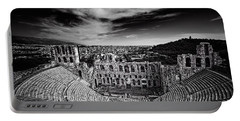 Odeon Of Herodes Atticus Portable Battery Charger by Ian Good