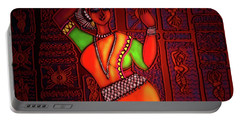 Odissi Dancer Portable Battery Charger