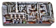 Office Building Pump Room - Sala Pompe Palazzo Abbandonato Portable Battery Charger