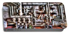 Office Building Pump Room - Sala Pompe Palazzo Abbandonato Paint Portable Battery Charger