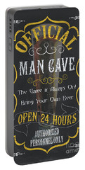 Official Man Cave Portable Battery Charger