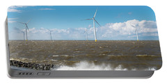 Offshore Windmill Park Portable Battery Charger