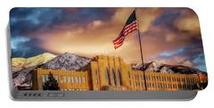 Ogden High School At Sunset Portable Battery Charger