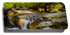 Ogwen Bank Waterfall  Portable Battery Charger