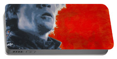 Portable Battery Charger featuring the painting Tyrion Lannister by Luis Ludzska