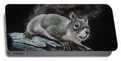 Oh Nuts  Portable Battery Charger by Jean Cormier