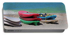 Portable Battery Charger featuring the photograph Oh The Beach Life by Michiale Schneider