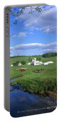 3d203 Ohio Farm Photo Portable Battery Charger