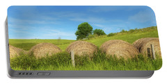 Ohio Landscape In Summer Portable Battery Charger