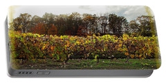 Portable Battery Charger featuring the photograph Ohio Winery In Autumn by Joan  Minchak