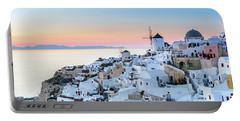 Oia, Santorini - Greec Portable Battery Charger