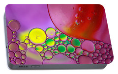 Portable Battery Charger featuring the photograph Oil And Water F by Rebecca Cozart