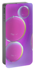 Oil On Water Abstract Portable Battery Charger