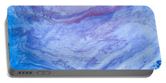 Oil Spill On Water Abstract Portable Battery Charger