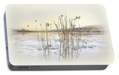 Portable Battery Charger featuring the photograph Okanagan Glod by John Poon