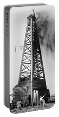 Oklahoma: Oil Well, C1922 Portable Battery Charger