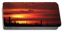 Oklahoma Sky At Daybreak  Portable Battery Charger