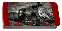 Old 104 Steam Engine Locomotive Portable Battery Charger
