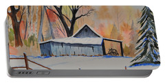 Old Barn II Portable Battery Charger
