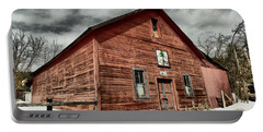 Portable Battery Charger featuring the photograph Old Barn In Roslyn Wa by Jeff Swan