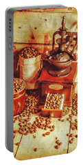 Old Bean Mill Decor. Kitchen Art Portable Battery Charger