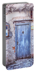 Old Blue Italian Door Portable Battery Charger