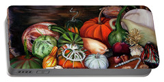 Old Bowl Cornucopia Portable Battery Charger