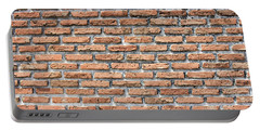 Portable Battery Charger featuring the photograph Old Brick Wall by Jingjits Photography