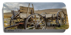 Old Buckboard Wagon Portable Battery Charger