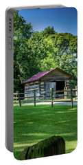 Portable Battery Charger featuring the photograph Old Building - The Hermitage by James L Bartlett