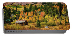 Old Cabin In Hope Valley Portable Battery Charger