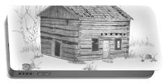 Old Cabin Portable Battery Charger