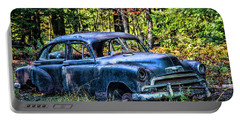 Old Car Portable Battery Charger by Alana Ranney