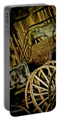 Portable Battery Charger featuring the photograph Old Carriage by Joann Copeland-Paul