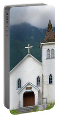 Portable Battery Charger featuring the photograph Old Church by Rod Wiens