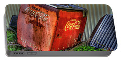 Old Coke Box Portable Battery Charger
