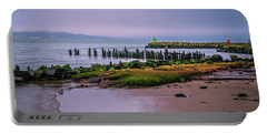 Portable Battery Charger featuring the photograph Old Columbia River Docks by Bryan Carter