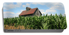Old Corn Crib Portable Battery Charger