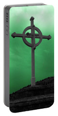 Old Cross - Green Sky Portable Battery Charger