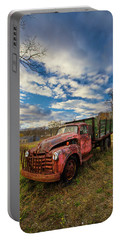 Old Duck Farm Truck Portable Battery Charger